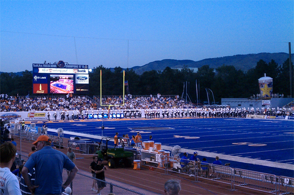 The Blue Turf