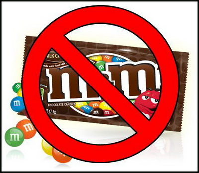 M&M's outlawed in Sweden